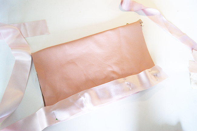 DIY Ribbon Clutch Tutorial