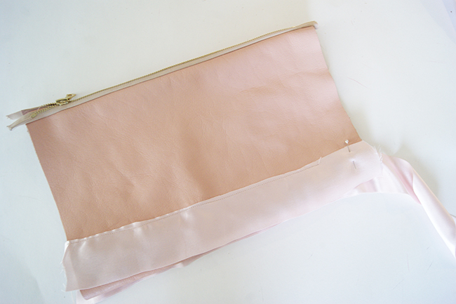 DIY Ribbon Clutch