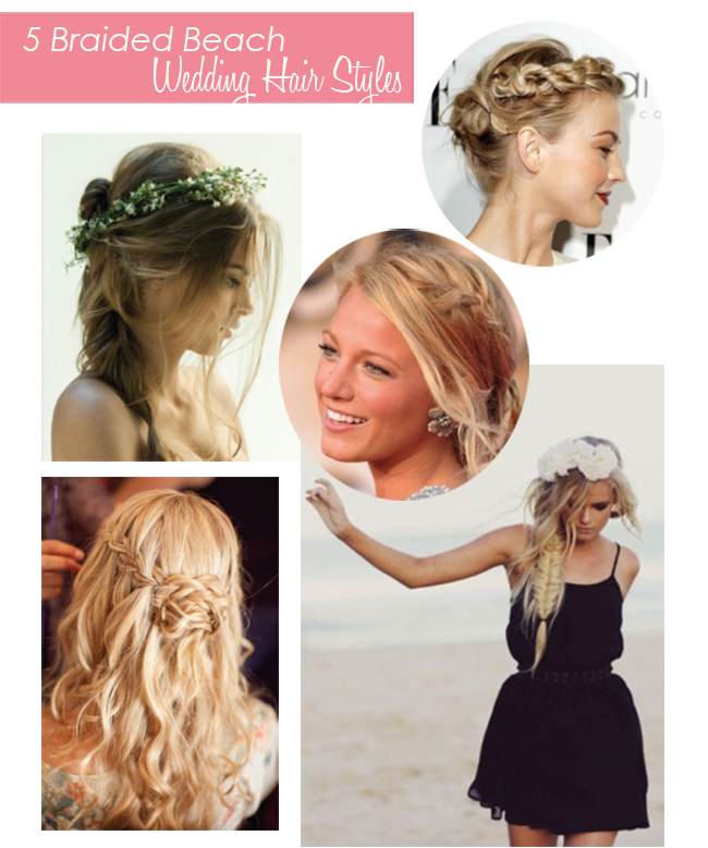 Braided Beach Wedding Hair
