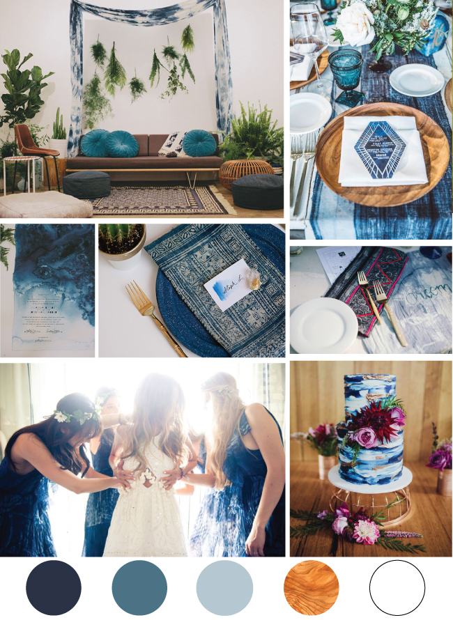 Indigo Wedding Inspiration