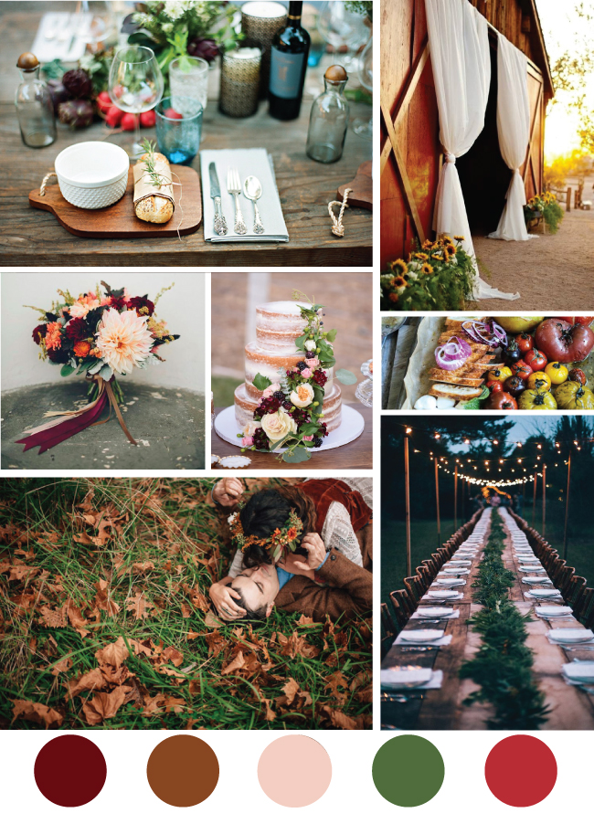 Fall Farm Wedding Inspiration
