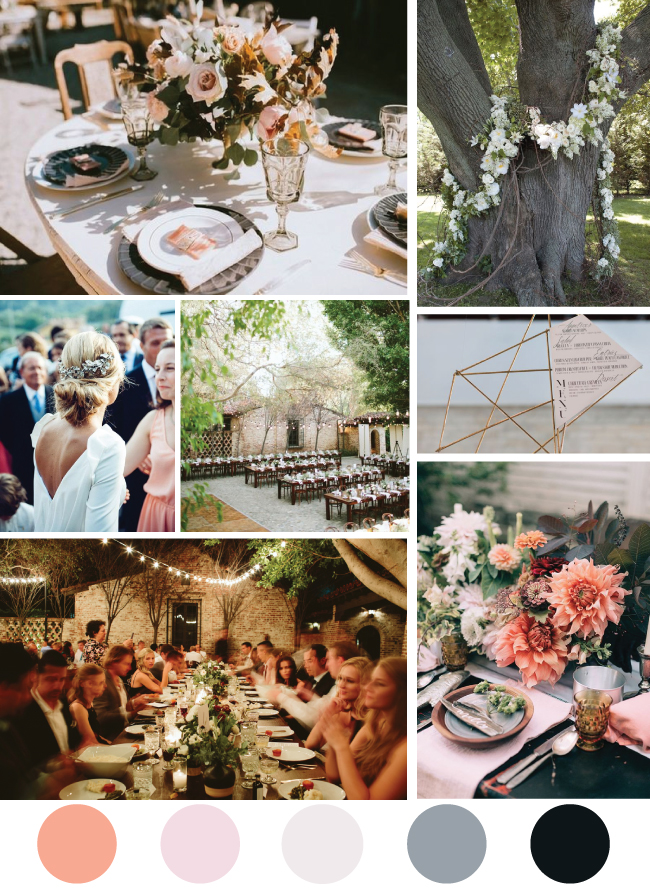 Romanic Alfresco Wedding Inspiration