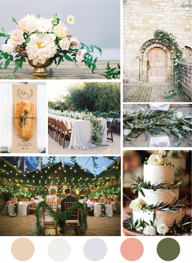 Tuscan Wedding Inspiration