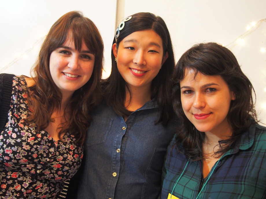 Mel, eu e Sharon <3