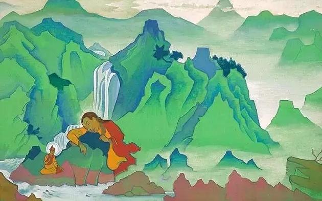 Nicholas Roerich Painting