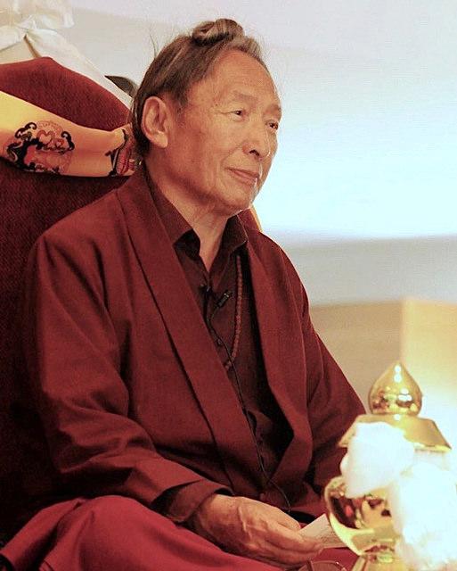 Lama Tharchin Rinpoche, Los Angeles 2012, Sarah C. Beasley