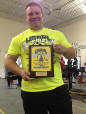 Paul Felder - Lebanon, OH   Paul Felder is a career firefighter and paramedic with the Washington Township Fire Department in Ohio.  Paul has also been a competitive powerlifter since 2012 as a competitive raw natural powerlifter in USA Powerlofting.    Paul's incredible list of accomplishments include:  the Ohio invitation at the 2013 Arnold Classic, placing 13th at the 2013 Raw Nationals, taking second at the Ohio State Championship in both the Full and Ironman Division in 2013, taking second at the Ohio Invitational at the 2014 Arnold classic, winning Ironman Division at the 2014 Ohio State Championship and being selected to complete in his third Ohio Invitational at the 2015 Arnold Classic.  Paul is also currently training for the 2014 USAPL Police and Fire National Championship.