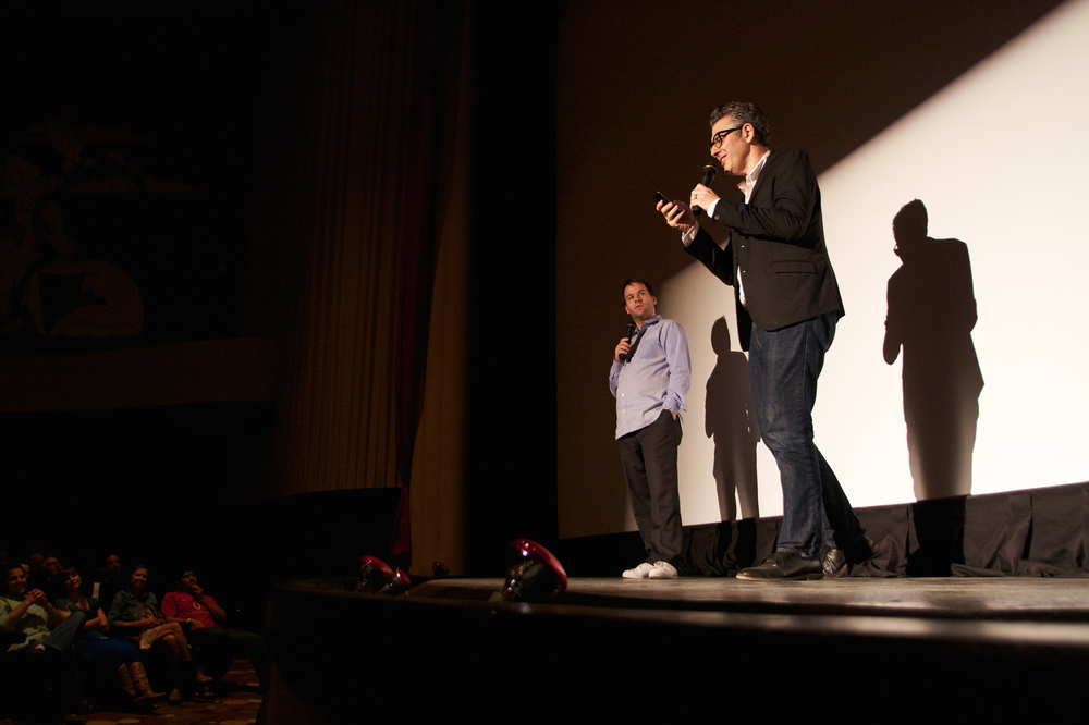 Mike Birbiglia and Ira Glass
