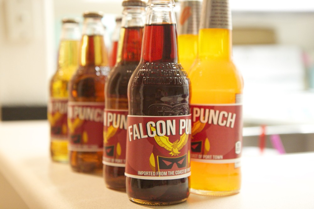falcon punch soda