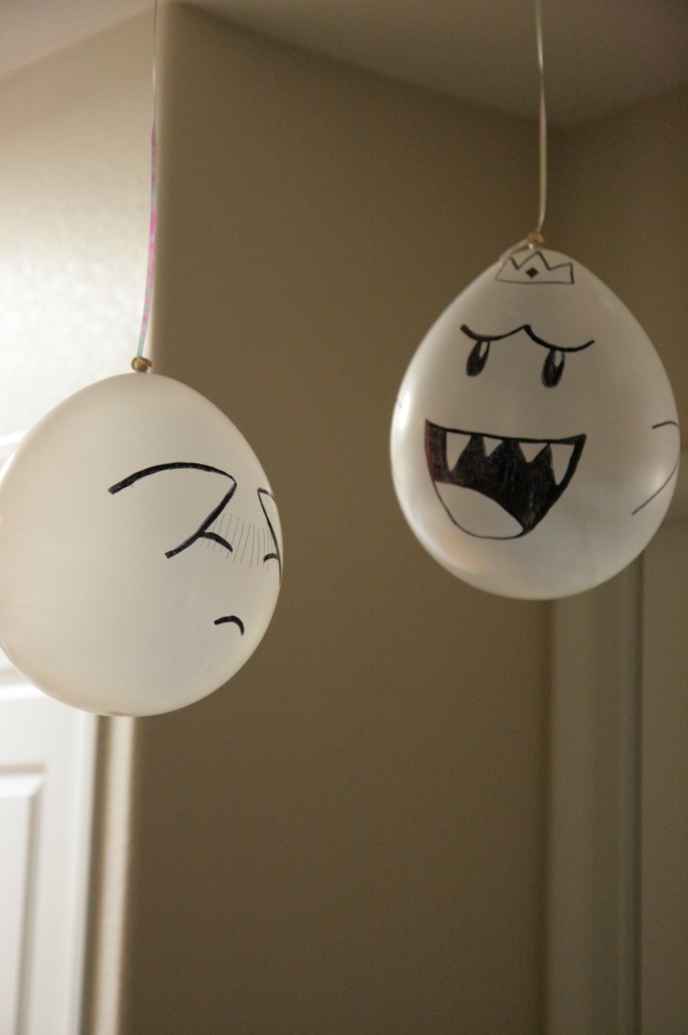 boos as balloons