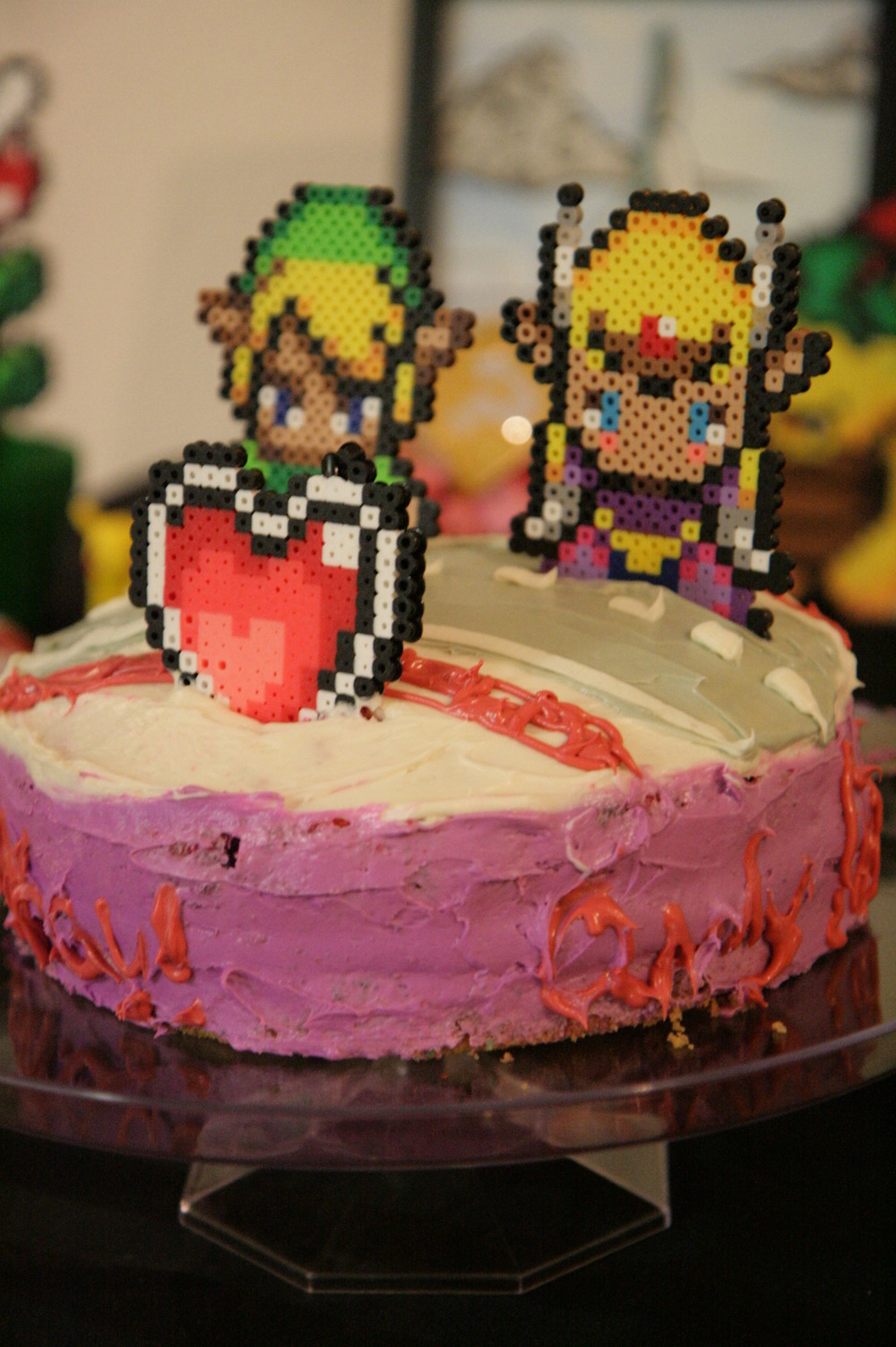 legend of zelda cake toppers