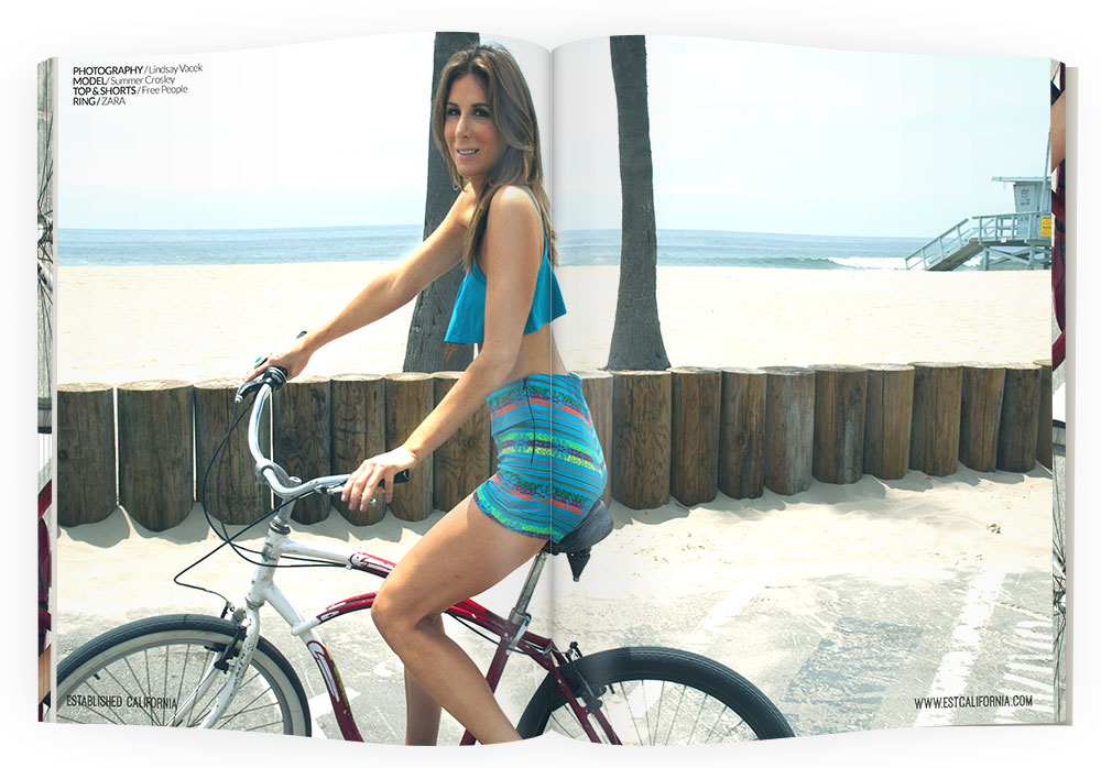 Established California | Fashion | Est. Editorials Bikini and the Beach