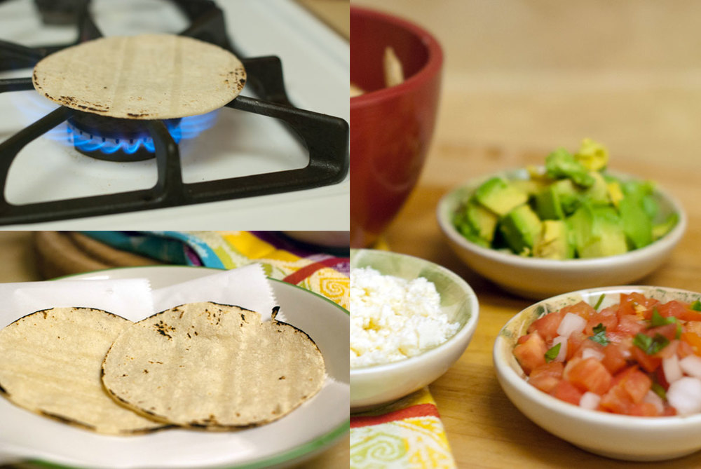 Established California | Grub | Turkey Soft Tacos | Tortillas