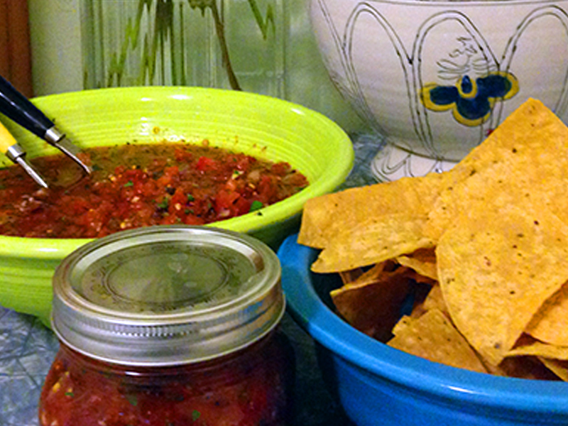 Established California | Grub | Homemade Habanero Salsa