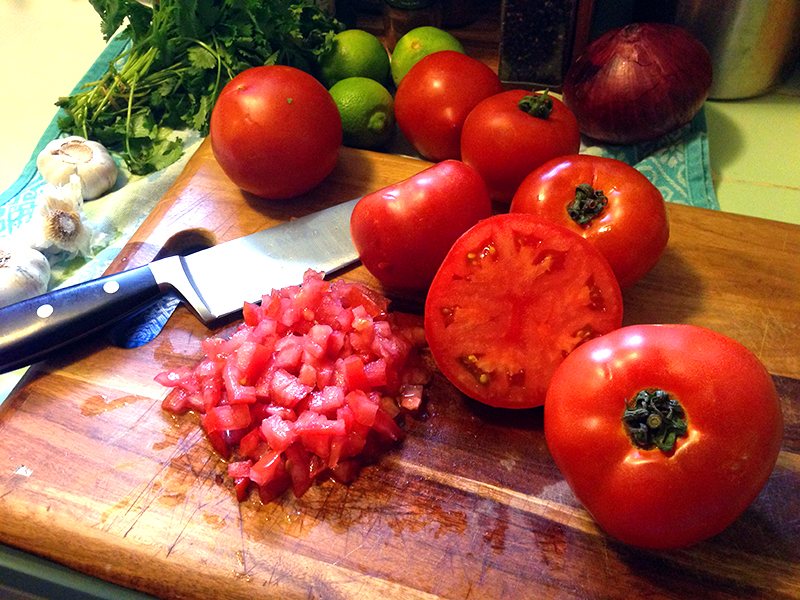 Established California | Grub | Homemade Habanero Salsa | Ingredients | Tomatoes