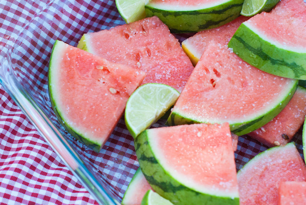 TEQUILA SOAKED WATERMELON SLICES — Established California
