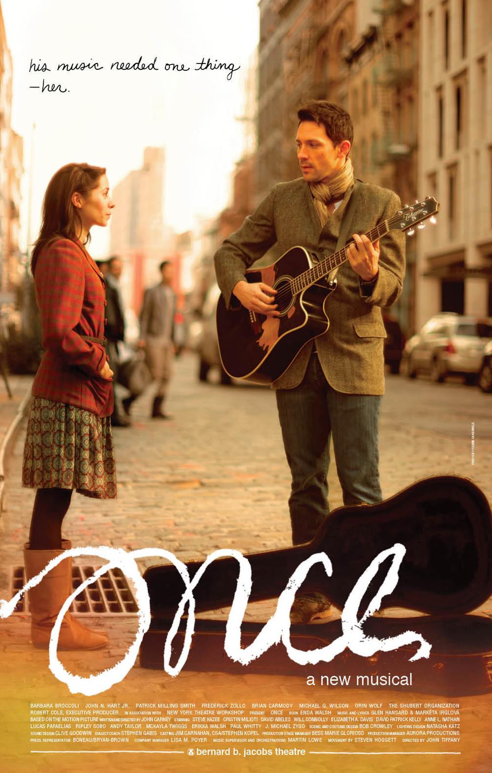 Image via  OnceTheMusical.com