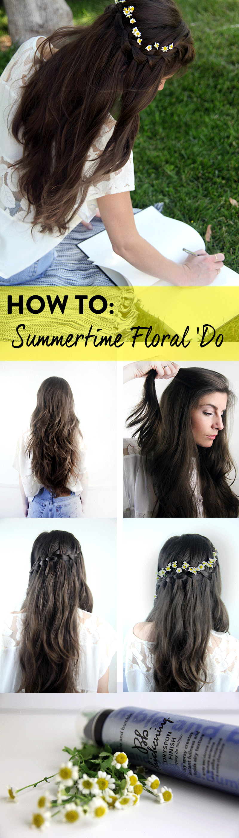 Established California | Beauty | Summertime Floral 'Do