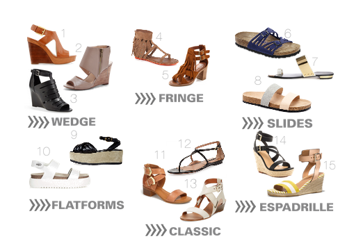 Established California | Fashion | Summer Sandal Style Guide