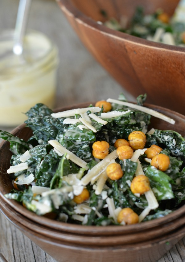KALE CAESAR SALAD — Established California