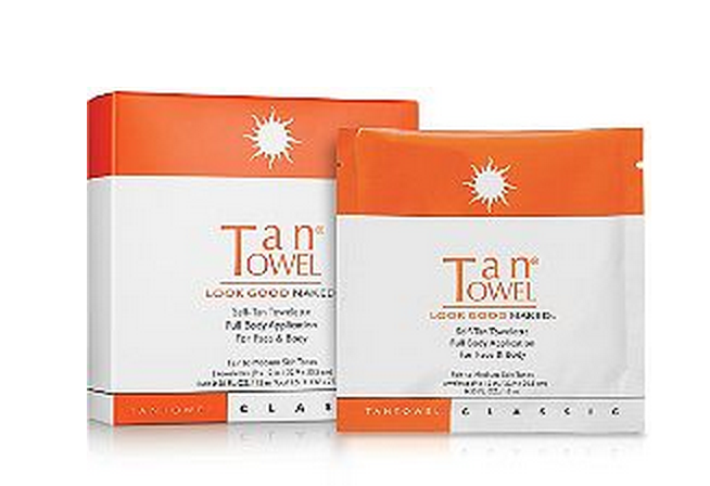 Established California | Beauty | Insta-tan: Flawless Self-Tanners | Tan Towel