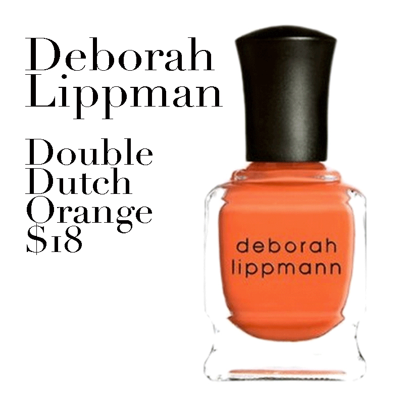 Established California | Beauty | All About Orange | Deborah Lippman