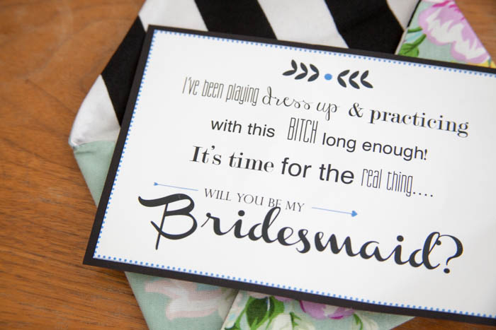 Established California | Party | Bridesmaids | Card