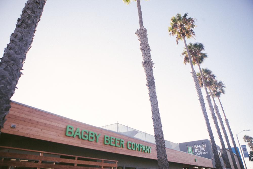 Established California | Grub | Bagby Beer Oceanside | Palm Trees + Beer