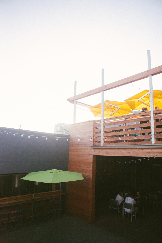 Established California | Grub | Bagby Beer Oceanside | Umbrellas