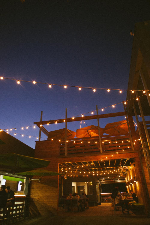 Established California | Grub | Bagby Beer Oceanside | Cafe Lights