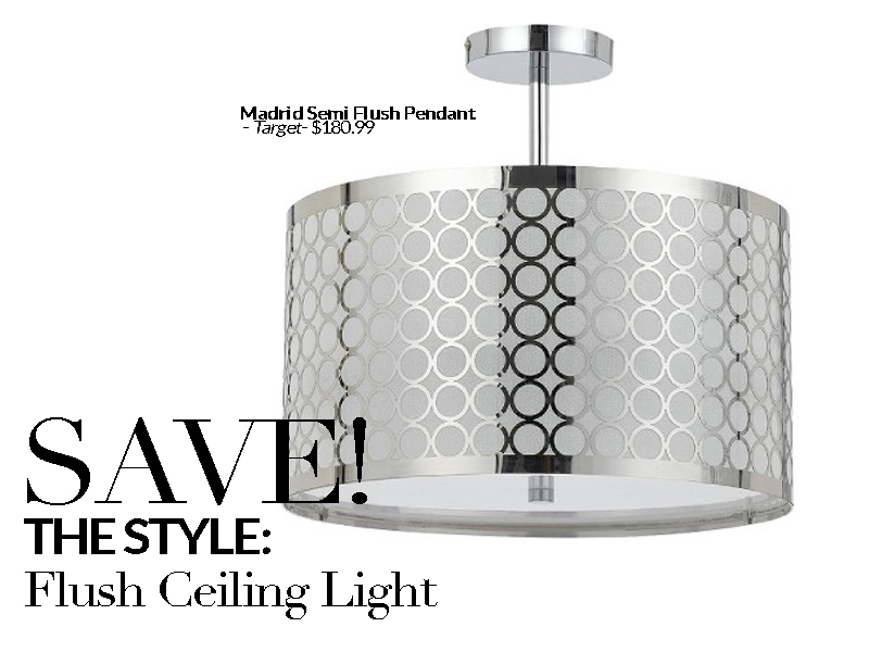 Established California | Habitat | Splurge vs Save Lighting | Flush Ceiling Save