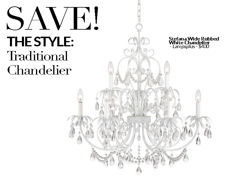 Established California | Habitat | Splurge vs Save Lighting | Chandelier Save