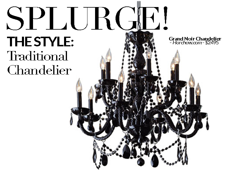 Established California | Habitat | Splurge vs Save Lighting | Chandelier Splurge