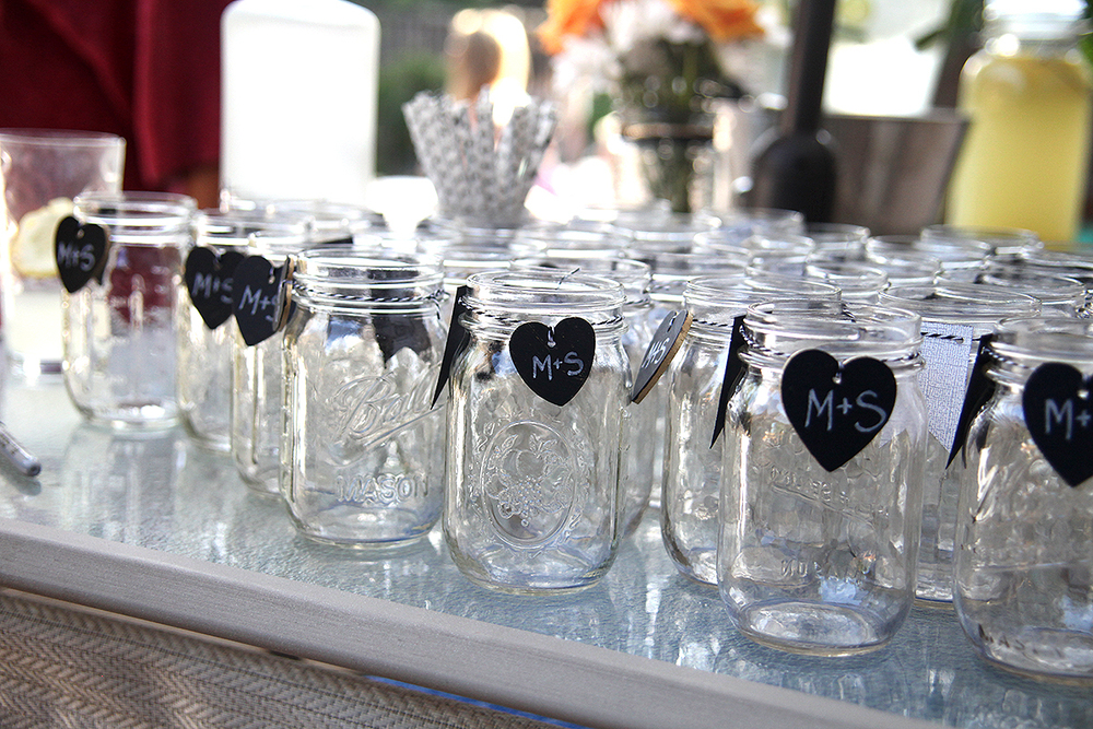Established California | Party | I Do BBQ | Mason Jars