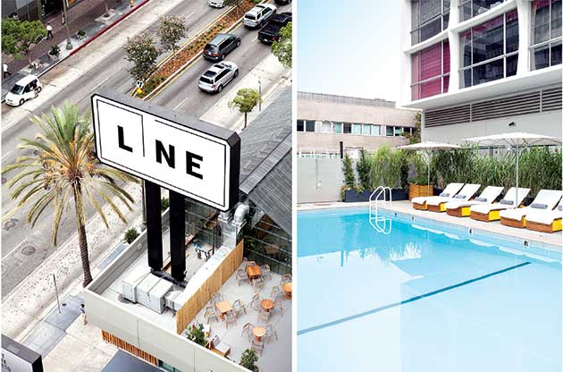 Established California | Grub | The Line Hotel