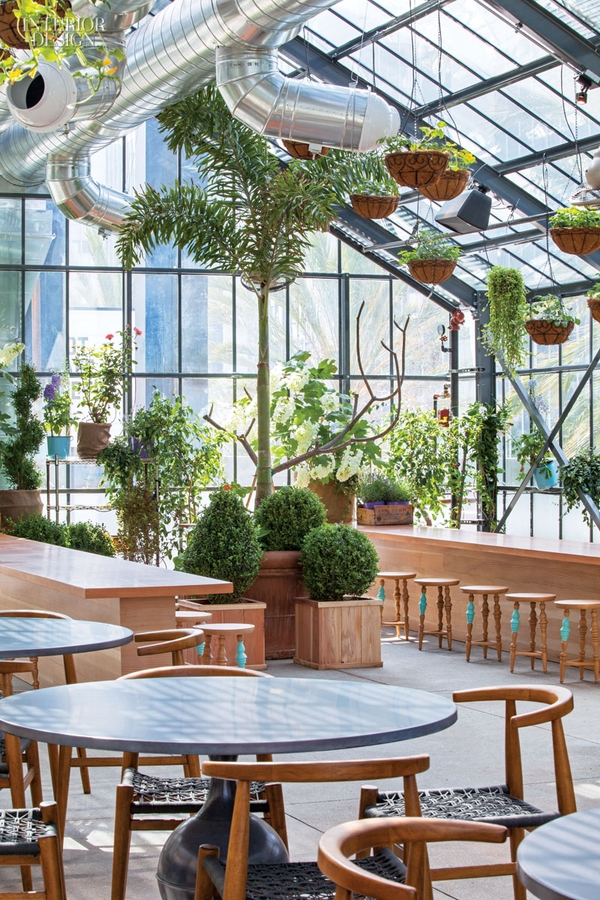 The line hotel commissary established california for Line hotel los angeles