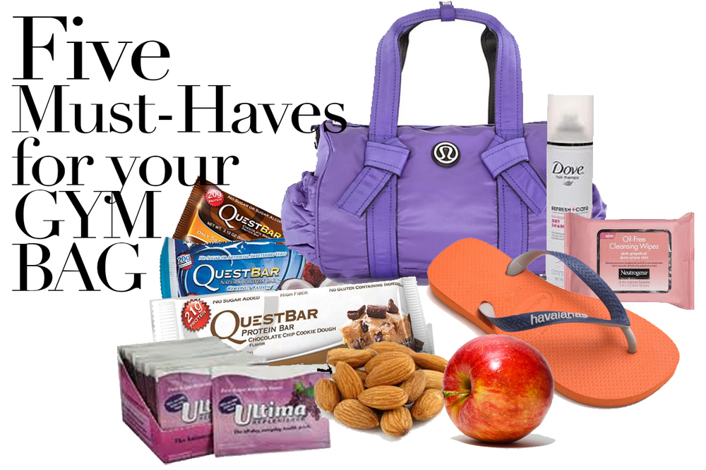 Established California | Health | Five Must Haves for your Gym Bag