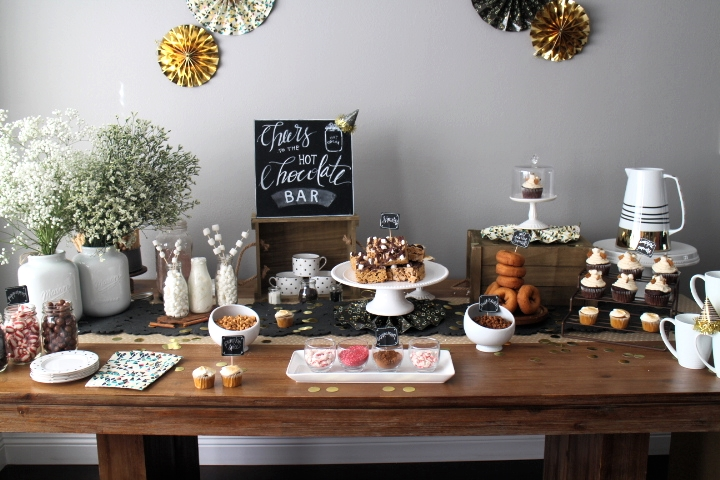 A Hot Chocolate Bar Party Established California