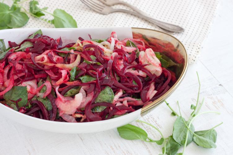 Established California | Rubies & Radishes | Beets Salad