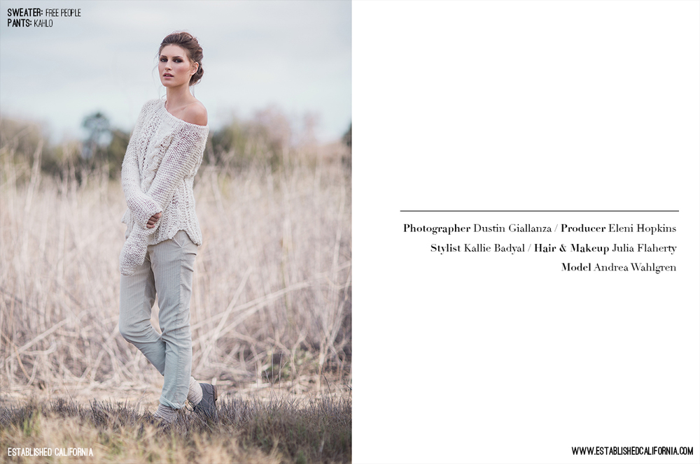 Boomer Canyon Fashion Editorial | Established California | Page 2