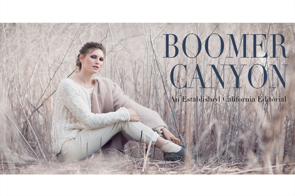 Boomer Canyon Fashion Editorial | Established California