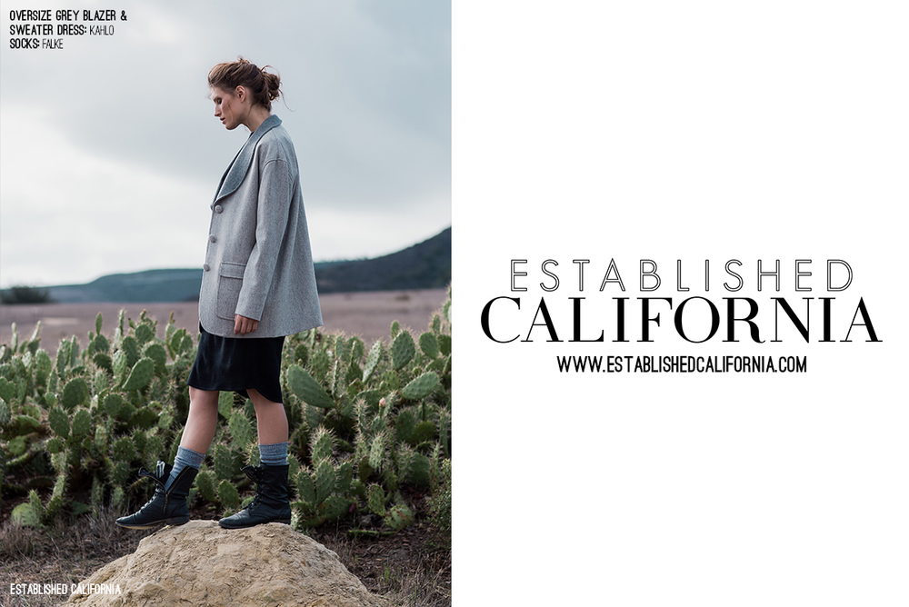 Boomer Canyon Fashion Editorial | Established California | Wordmark