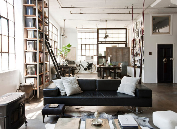 Anatomy of a room loft living established california
