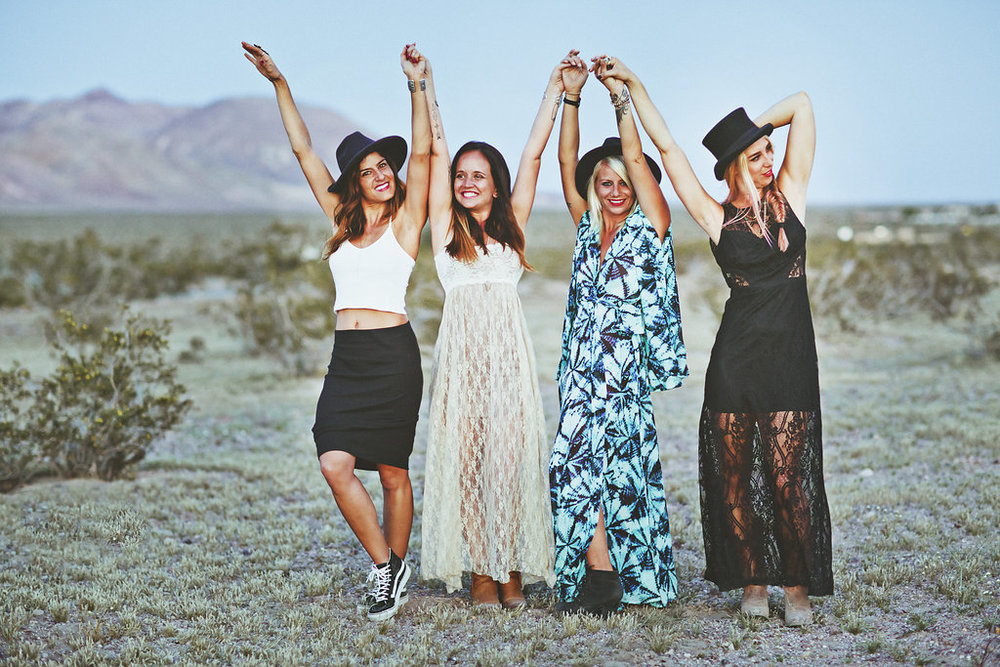 Desert Dancing Fesitval Fashion Adventure featured on Established California