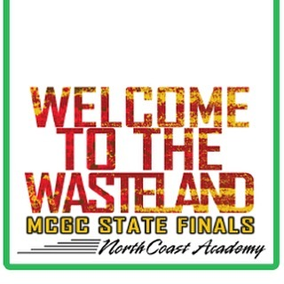 Be sure to use our Welcome to the Wasteland filter on snapchat today while you are at MCGC state finals!! We perform at 5:02pm in Saginaw Valley State University! #welcometothewasteland #nca2016 #wgi2016