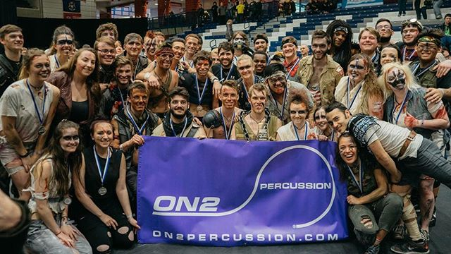 Thanks a lot to @on2percussion for always supporting us! #welcometothewasteland #wgi2016 #nca2016