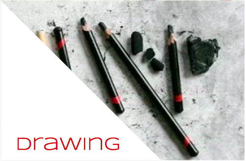pencil, charcoal, & conte drawing classes