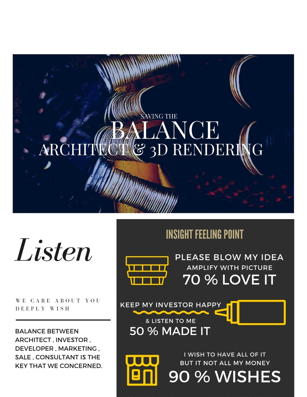 Architect and 3drendering