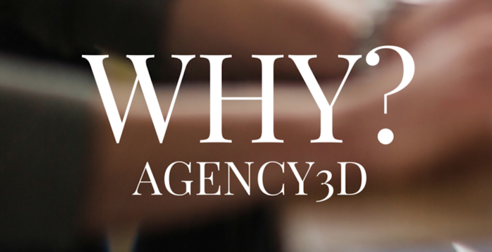 why AGENCY3D