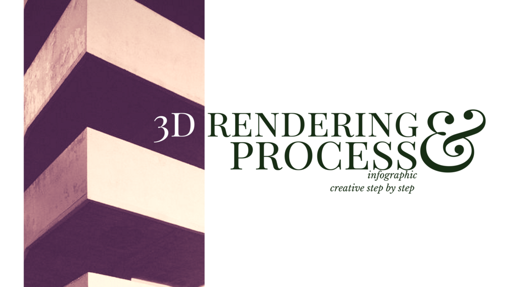 3D rendering process that you never know